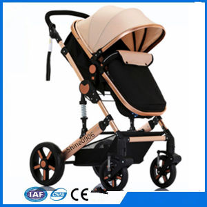 New High Landscape Baby Carriage Baby Stroller pictures & photos