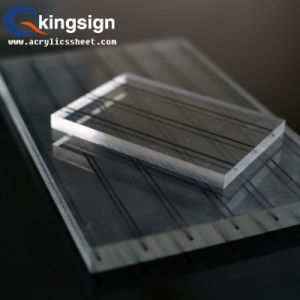 Kingsign Supply 100% Virgin 3mm Transparent Acrylic Sheet Product pictures & photos