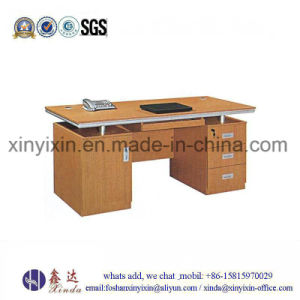 Black Color Clerk Computer Table Cheap Office Desk (MT-2422#) pictures & photos