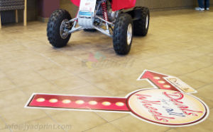 Full Color Printing Supermarket Advertising Vinly Decal Floor Sticker pictures & photos