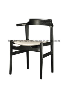 Leather Upholstered Solid Wood Dining Chair (I&D-8030)
