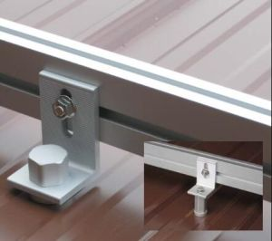Metal Roof Solar PV Brackets Installation Solutions pictures & photos