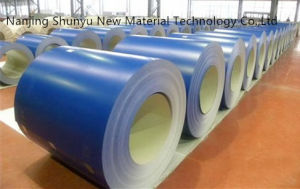 0.13-1.2mm Thickness Blue Color Coated Galvanized Steel Coil for Aluzinc Roof Sheets pictures & photos