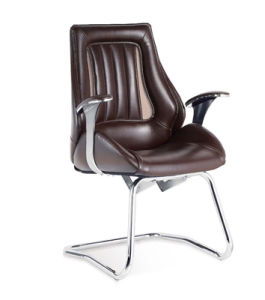 Adjustable Arms Brown Color Conference Waiting Office Chair (NS-C9082) pictures & photos