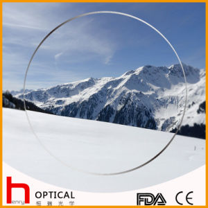 Semifinished 1.59 Spin Coating Photochromic Optical Lens pictures & photos