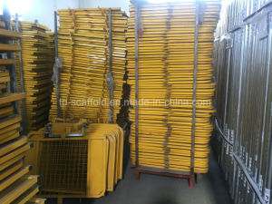 Scaffolding Expandable Scaffold Gate with Yellow pictures & photos