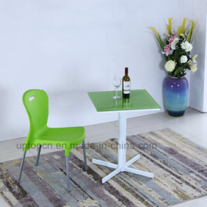 Wholesale Cafe Square Table and Plastic Chair for Catering (SP-CT841) pictures & photos
