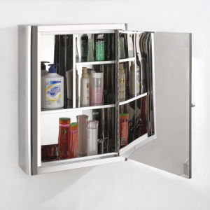 Top Quality Stainless Steel Bathroom Mirror Cabinet 7019 pictures & photos