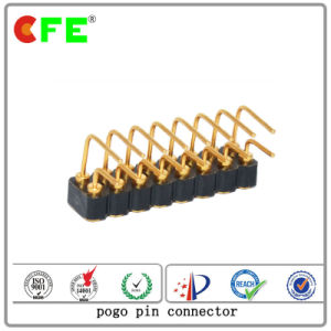 Double Row 16pin Right Angle Pogo Pin Connector pictures & photos