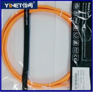 23AWG CAT6 Patch Cable with RJ45 Connectors - 1m Orange pictures & photos