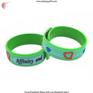 Customized Silicone Bracelet for Promotion Gifts (YH-PB003) pictures & photos