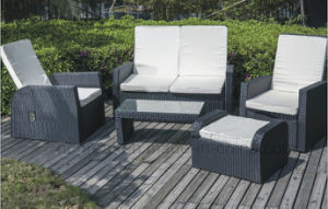 Modern Rattan Sofa, Outdoor Sofa pictures & photos