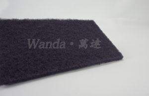 Dark Purple Kitchen Cleaning Products Abrasive Scouring Pad Scrubbing Pad pictures & photos