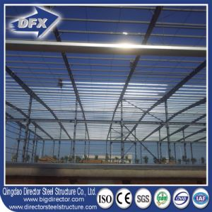 Fast Construction Steel Prefabricated Warehouse with Sandwich Panel pictures & photos