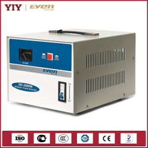Single Phase Voltage Stabilizer with Input Output Display Meter Display pictures & photos