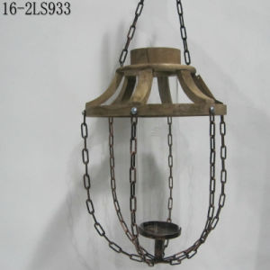 Antique Wooden with Iron Chain of Vintage Lanterns pictures & photos