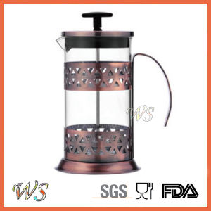 Wschxx040 Copper French Press Coffee Maker Hot Sell Stainless Steel Coffee Press pictures & photos
