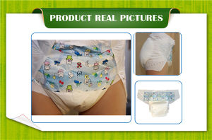 OEM Disposable High Absorbency Baby Printing Cute Adults Diapers Abdl pictures & photos