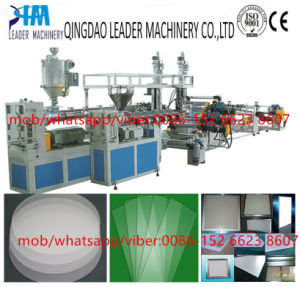 PS/GPPS Diffusion Sheet/Board Extrusion Line Making Machine pictures & photos