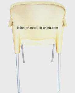 Lola Outdoor Stacking Arm Chair in Cream (LL-0050) pictures & photos