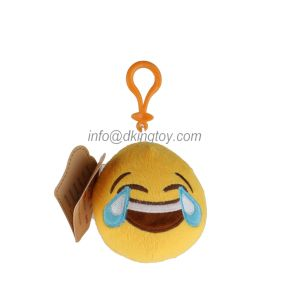 Wholesale Stuffed Plush Emoji Custom Keychain Toy pictures & photos