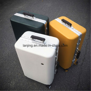 Aluminum ABS Trolley Case Customs Combination Lock Travel Luggage Suitcase pictures & photos