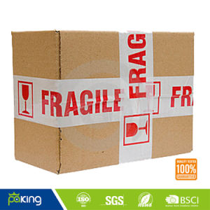Supply Fragile Logo Printed Packaging Tape pictures & photos