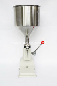 Manual Paste Filler/Paste Filling Machine/Water Filling Machine From China pictures & photos