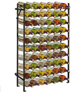 Modern Metal 60 Bottle Wine Rack Wine Display Stand for Storage pictures & photos