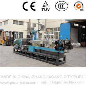 Pet Flakes Recycled Pelletizing Extruder pictures & photos