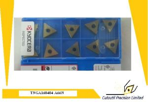 Kyocera Cnga120408-A65 Turning Insert for Turning Tool Carbide Insert pictures & photos