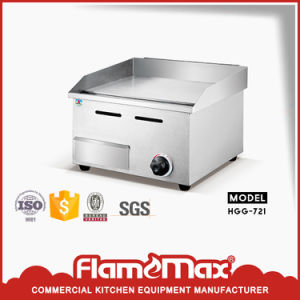 Hgg-721 Kitchen Equipment BBQ Stainless Steel Gas Griddle with Gas Fryer pictures & photos