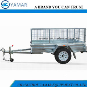 Cage Trailer with PVC Tarp pictures & photos