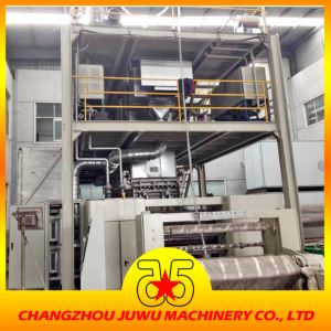 Three Dies SMS Non Woven Fabric Machine pictures & photos