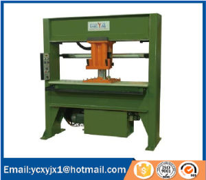 Xyj-1A/25 Hyduaulic Traveling Head Leather Cutting Machine pictures & photos