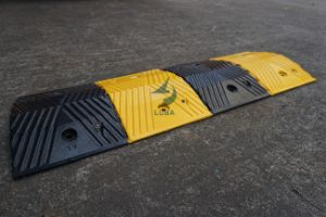 Traffic Safety Products Rubber Reflective Speed Hump (LB-J06) pictures & photos