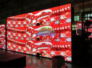 P4 SMD3 in 1 HD Indoor RGB LED Wall/ Ledwall for Permanent Installation pictures & photos