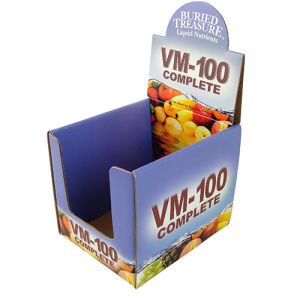 Cardboard Display for Food, Paper Display Stand pictures & photos