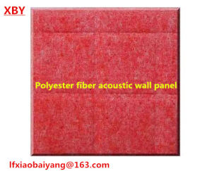 Ce Approved 100% Pet Polyester Fiber Wall Panel Acoustic Panel Ceiling Panel pictures & photos