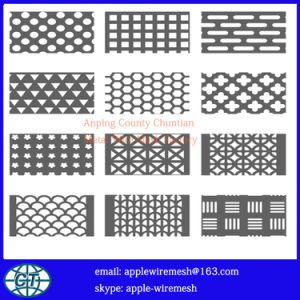 Perforated Metal Panel in 0.5mm to 4.0mm pictures & photos