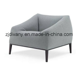 Modern Style Home Leather Sofa Fabric Sofa Furniture (D-76-C) pictures & photos