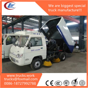 3cbm Mini Street Cleaning Vacuum Road Sweeper Truck for Sale pictures & photos