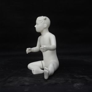 Shiny White Fiberglass Mannequin Baby for Window pictures & photos