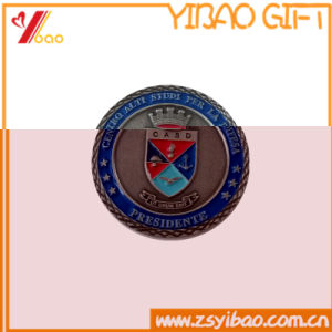 Custom Logo High Quality Double Coin Souvenir Gift (YB-HD-146) pictures & photos