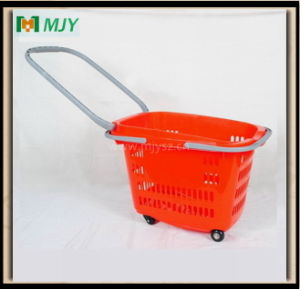 Plastic Shopping Basket Mjy-Tr12 pictures & photos