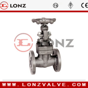 Forged Steel Globe Valve Flange End pictures & photos