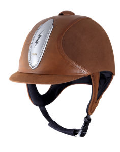 Vg1 Hot Sale Equestrian Horse Riding Helmet Ce Approval Helmet with Leather Cover pictures & photos