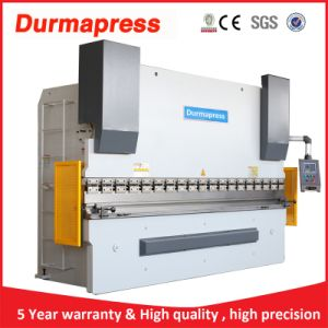Durmapress Brand Hydraulic CNC Press Brake with Delem Controller pictures & photos