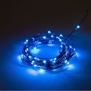 Micro LED Blue Lights Copper Wire 33FT 100 LEDs Flexible Starry String Lights for Indoor pictures & photos