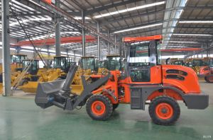 1.2 Tons Small/ Mini Wheel Loader with Snow Blower pictures & photos